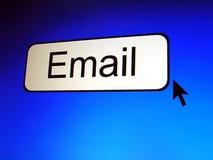 Envie por correio electrónico a tecla Fotografia de Stock