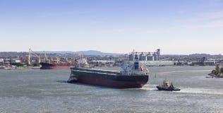 Envio - porto Austrália de Newcastle Fotografia de Stock Royalty Free