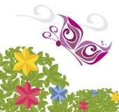 Enviroment flowers design Stock Image