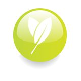 Enviromental Button Royalty Free Stock Images
