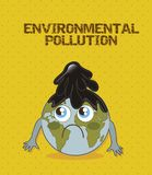 Enviromental pollution Royalty Free Stock Images