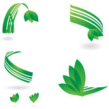 Enviromental ribbon Stock Photos