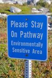Enviromental Sign Royalty Free Stock Images