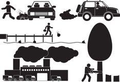 environment иллюстрация вектора
