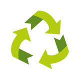 Environment arrow aroung recycle ecology symbol Royalty Free Stock Images