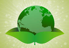 Environment concept green earth Stock Images