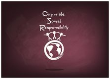 Environment Conservation with Corporate Social Responsibility Concepts Stock Images