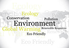 Environment / eco design Royalty Free Stock Images