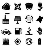 Environment and eco icons Royalty Free Stock Photo