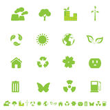 Environment and eco symbols Royalty Free Stock Image