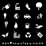 Environment and eco symbols. Environment and eco related symbols Royalty Free Stock Photo