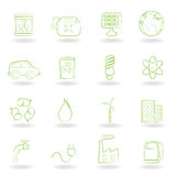 Environment and ecology icons vector illustration