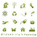 Environment and ecology symbols Royalty Free Stock Image