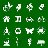 environment elements icon set Stock Image