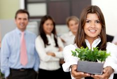 Environment friendly business Stock Photography