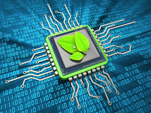 Environment friendly computing Stock Images