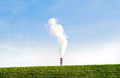 Environment-friendly industry Royalty Free Stock Photo