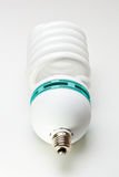 Environment friendly lamp. On white background Royalty Free Stock Photos