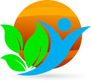 Environment friendly people Stock Photography