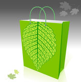 Environment Friendly Shopping Bag Stock Photo