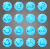Environment  icons set Stock Photo