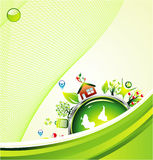 Environment Green Background Stock Photos