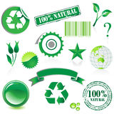 Environment icon set Stock Images