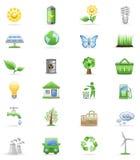 Environment Icon Set. Stock Photo