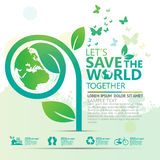 Environment infographic concept design Vector Stock Photo