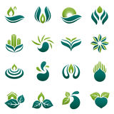 environment logo design Royalty Free Stock Images