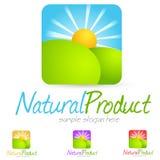 Environment Logo. Eco Environment logo green symbol illustration Stock Image