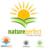 Environment Logo. Eco Environment logo green symbol illustration Stock Photography