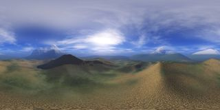 HDRI map. Environment map. HDRI map. Equirectangular projection. Spherical panorama. Abstract background Stock Images