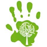 Environment and Nature. Environment symbol Royalty Free Stock Photos