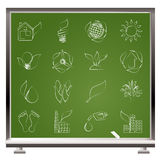 Environment and nature icons Stock Image