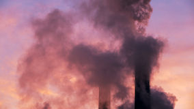 Environment pollution Royalty Free Stock Images