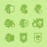 Environment Protection Icon Stock Photo