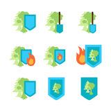 Environment Protection Icon Royalty Free Stock Photography