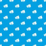 Environment protection pattern vector seamless blue. Repeat for any use Royalty Free Stock Photo
