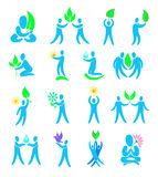 Environment. Set of design elements and icons. Royalty Free Stock Photo