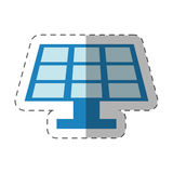 Environment solar pannel design Royalty Free Stock Photo