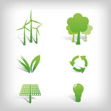 Environment Vector Icons Royalty Free Stock Photography