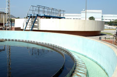 Environment water filtration plant stock photos