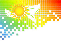 Environmental abstract backdrop Royalty Free Stock Images