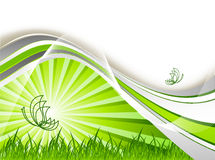 Environmental abstract backdrop Stock Photo