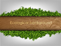Environmental background of the banner Royalty Free Stock Photos