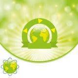 Environmental background green Stock Image