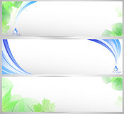 Environmental banner set Royalty Free Stock Photo