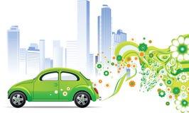 Environmental car royalty free illustration