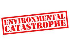 ENVIRONMENTAL CATASTROPHE Royalty Free Stock Photography